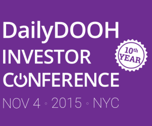 DailyDOOH Investor Conference 2015